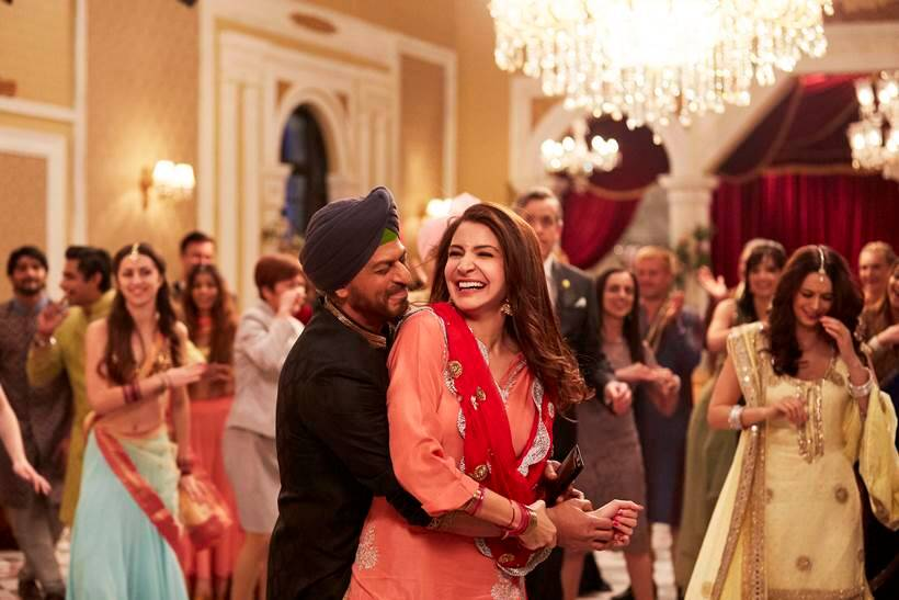 While Shah Rukh Khan is playing a Punjabi tour guide Harinder'Harry Singh Nehra in the film Anushka will be seen as a Gujarati girl Sejal Jhaveri