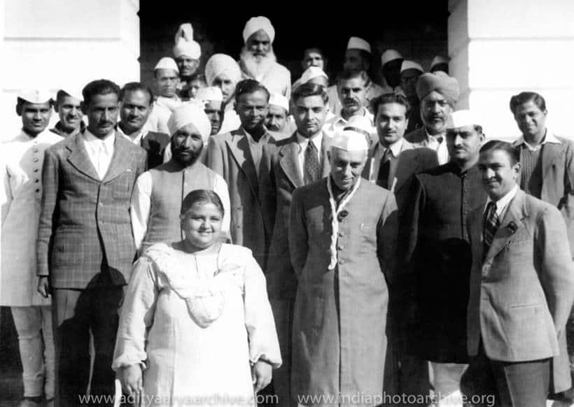 indian national army, jawaharlal nehru