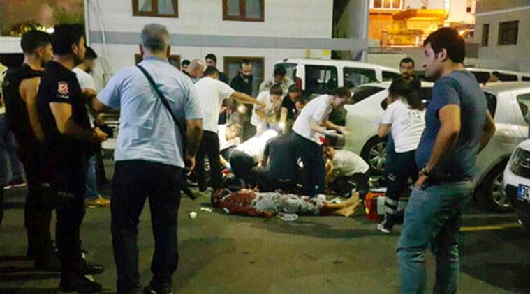 Turkey policeman stabbed, Turkey policeman, Turkey Police Station Attacked, Turkey Police Station, Turkey, IS Suspect, IS, Islamic State, World News, Latest World News, Indian Express, Indian Express News