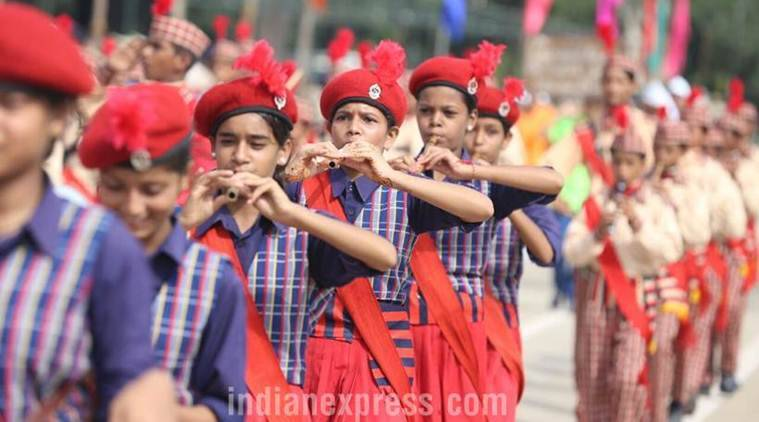 Police personnel, NCC cadets rehearse in Chandigarh ahead of Independence Day