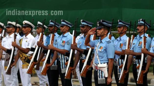 independence day 2017, dress rehearsal, independence day photos, i day images, independence day images, i day dress rehearsal photos, independence day celebrations, red fort, independence day parade, swatantrata diwas, indian express