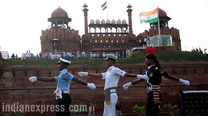 Independence Day celebrations: Full dress rehearsals at Red Fort