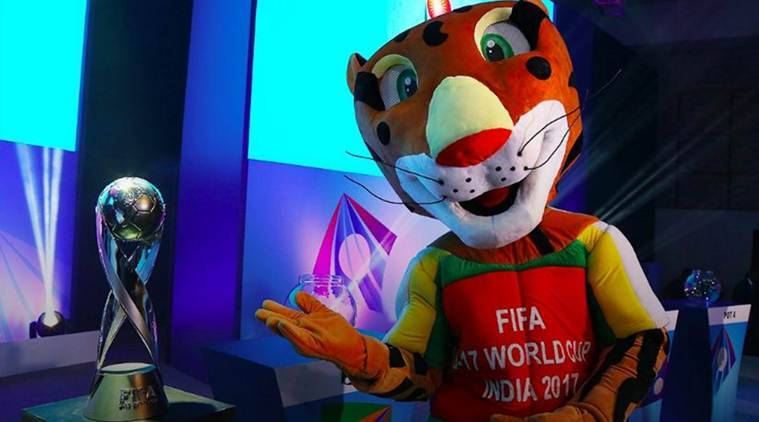 Image result for FIFA U-17 World Cup TROPHY DELHI