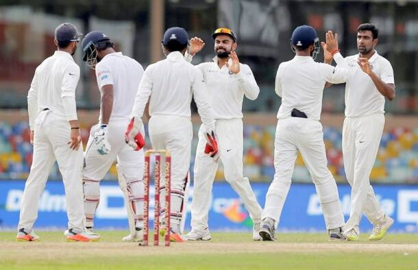 India vs Sri Lanka, Kusal Mendis, Dimuth Karunaratne, R Ashwin, sports gallery, cricket, Indian Express