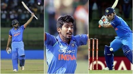 India vs Sri Lanka, Rohit Sharma, India tour of Sri Lanka 2017, MS Dhoni, sports gallery, cricket, Indian Express