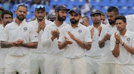 India vs Sri Lanka, Virat Kohli, Kuldeep Yadav, Shikhar Dhawan, Cheteshwar Pujara, R Ashwin, Ravindra Jadeja, sports news, cricket, Indian Express