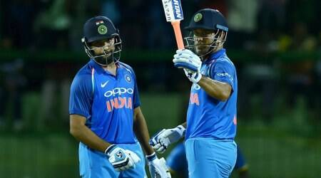 India vs Sri Lanka, Rohit Sharma, India tour of Sri Lanka, MS Dhoni, sports news, cricket, Indian Express