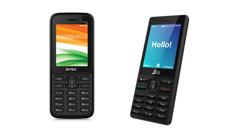 Intex Launches 4G-Volte & 2G Feature Phones Starting at Rs. 700