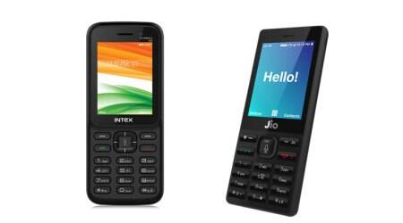 Reliance Jio, JioPhone, Jio Phone price, JioPhone registration, JioPhone sale, Jio Phone price in India, Intex Turbo+ 4G, Turbo+ 4G vs JioPhone, Intex Turbo+ 4G feature phone, Idea feature phone