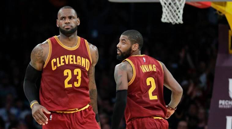 NBA: Cleveland Cavaliers trade Kyrie Irving to Boston Celtics for