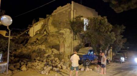 Two dead, children trapped after quake hits Italian holiday island of Ischia