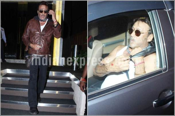 Jackie Shroff, Jackie Shroff images, Jackie Shroff birthday party images