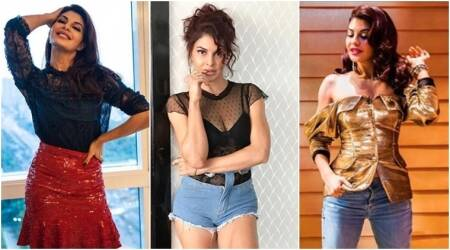Jacqueline Fernandez goes bold and bling for 'A Gentleman' promotions
