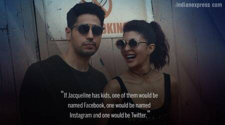 Sidharth Malhotra says Jacqueline Fernandez's kids would be named Facebook, Instagram and Twitter