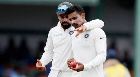 Virat Kohli, Ravindra Jadeja, India vs Sri Lanka, India tour of Sri Lanka 2017, Cricket news, Indian Express