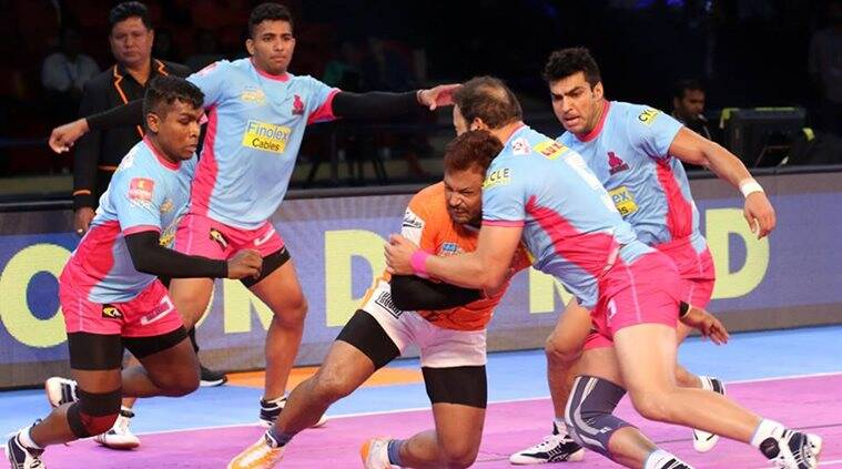 Haryana Steelers Draw 27-27 With Jaipur Pink Panthers