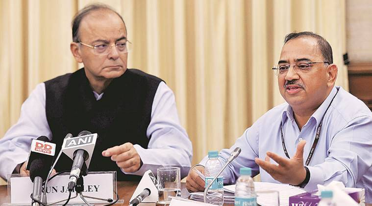 ETF, exchange-traded fund, arun jaitley, Bharat 22, ONGC, ITC, SBI scrips, business news
