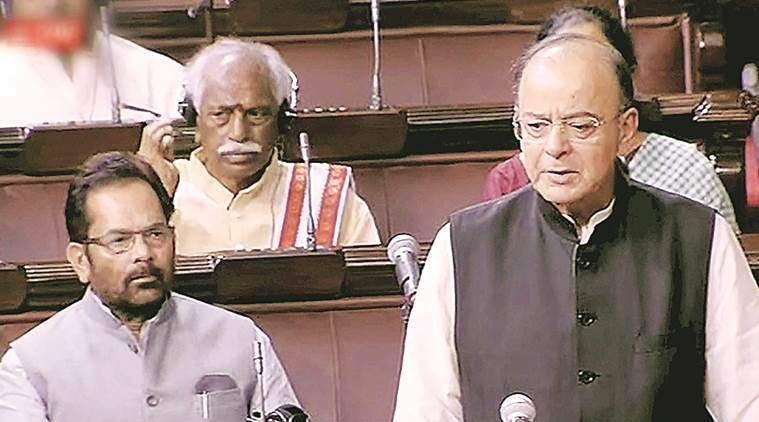 Arun Jaitley, Rajya Sabha, Monsoon Session,Quit India Movement, Indian Express, India News, politics, NDA government