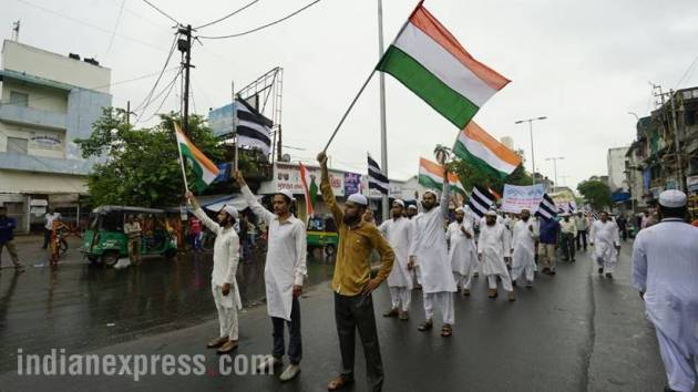 independence day 2017, independence day pics, independence day celebrations, 15th august, august 15 pics, independence day rehearsal pics, i day photos, independence day dress rehearsals, independence day madrasas, independence day gujarat, indian express