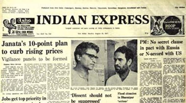 Forty Years Ago, MISA, Janata Party President Chandra Shekhar, Godse, Political Prisoners, Express Forty Years Ago, India News, Indian Express, Indian Express News