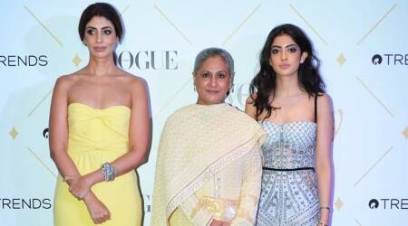 Jaya Bachchan, Navya Naveli, Shweta Nanda