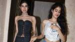 Jhanvi and Khushi Kapoor continue their glamorous streak at Sridevi's birthday bash