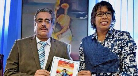 Air India felicitates Jhulan Goswami for World Cupshow