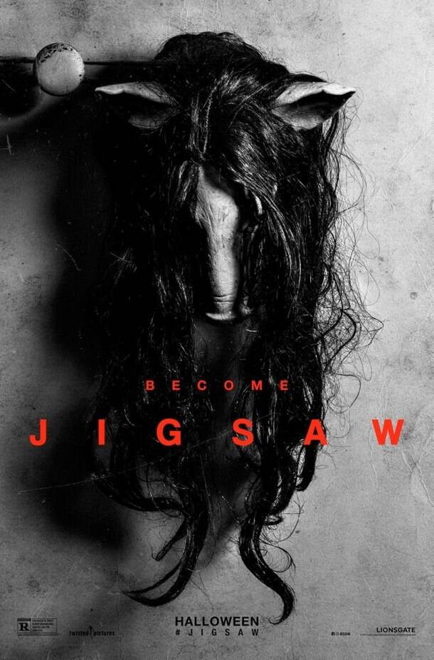 jigsaw, jigsaw movie, jigsaw film, saw 8, jigsaw poster