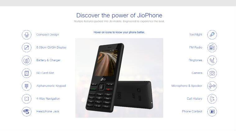 d107b63e0 Reliance JioPhone pre-bookings  A list of detailed specifications