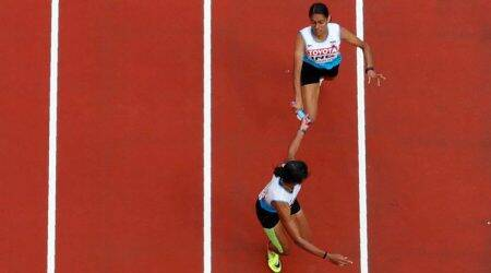 India 4×400 metre relay team crashes out of WorldChampionships
