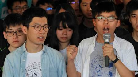 Hong Kong's Umbrella Movement leaders jailed for participating in pro-democracyprotests