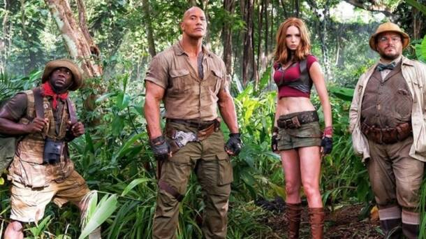 jumanji 2, jumanji welcome to the jungle, jumanji sequel, dwayne johnson,