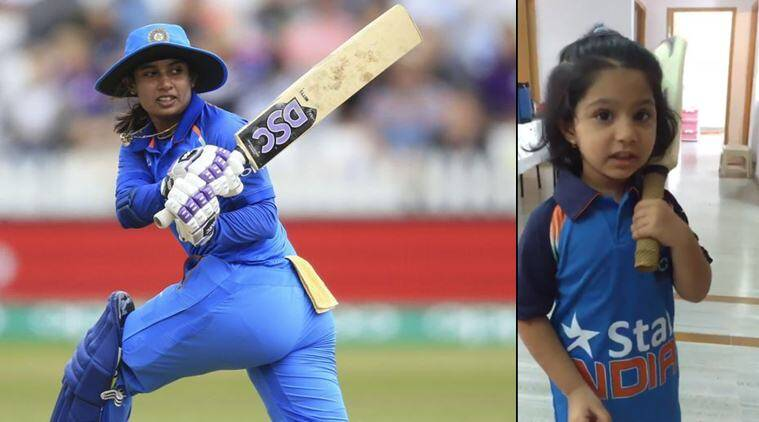 mithali raj, independence day, girl dress up as mithali raj, girl dress as woman athlet, fancy dress competition ideas, viral news, sports news, cricket, indian express