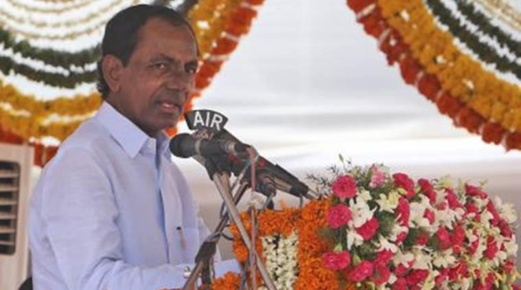 telangana government, telangana government land survey, telangana government land records, telangana government land disputes, K Chandrasekhar Rao land survey, indian express news