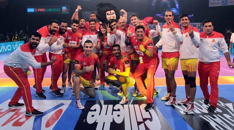 Pro Kabaddi 2017, Gujarat Fortunegiants, PKL season 5, Sachin Tawar, Patna Pirates, UP Yoddha, Kabaddi news, Indian Express
