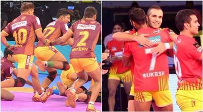 Pro Kabaddi 2017, Pkl season 5, UP Yoddha, Gujarat Fortunegiants, Telugu Titans, Kabaddi news, Indian Express