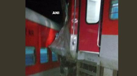 Six coaches of Kaifiyat Express derails near Auraiya, at least 40 injured