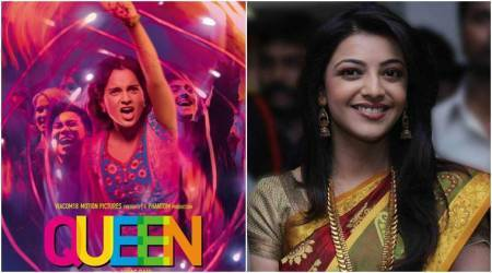 Kajal Aggarwal will be the 'Queen' of south