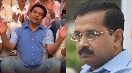 Video: Kapil Mishra trolls Arvind Kejriwal with special 'birthday' song
