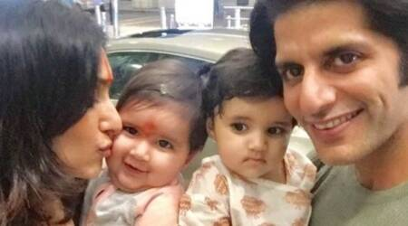 Karanvir Bohra's twin daughters are back to Canada, daddy dearest writes an adorable note for them