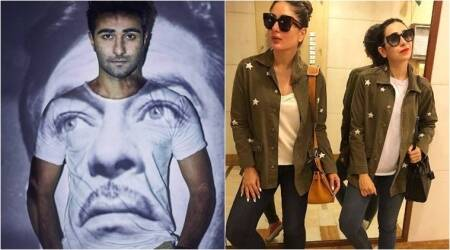 Watch: Kareena Kapoor Khan, Karisma Kapoor wish luck to Aadar Jain for his debut film Qaidi Band
