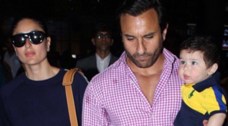 Kareena Kapoor Khan, Saif Ali Khan's family vacation is over, and they are back home with baby Taimur. See photos