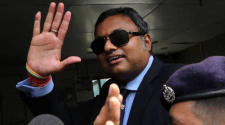 CBI questions Congress leader P Chidambaram's son Karti for second time