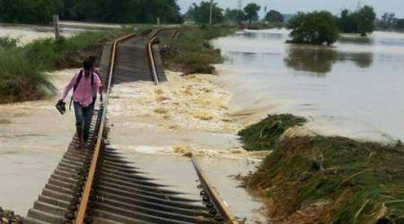 Flood damage: Rail link to Assam will not be repaired before August28