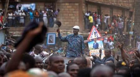 Kenya Election, Kenya Election Violence, Kenya's opposition leader Raila Odinga, Raila Odinga, World News, Latest World News, Indian Express, Indian Express News