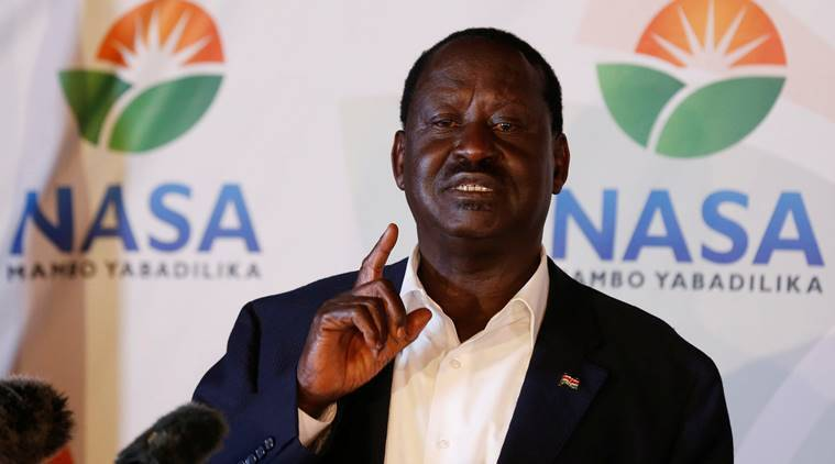 Kenya, kenya elections, Raila Odinga, Kenya opposition, Uhuru Kenyatta, World news, Indian Express