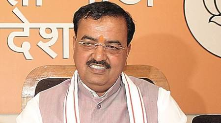 SP, BSP governments looted people for 14 years, says Keshav Prasad Maurya