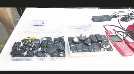 Delhi: Engineer who stole luxury cars using smart keys arrested