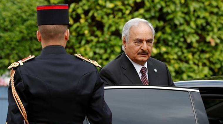 Libyan military commander Khalifa Haftar was due to arrive in Moscow on Saturday ahead of a meeting with Russia's foreign minister, RIA news agency reported, citing a Russian negotiator. Haftar is expected to meet Sergei Lavrov on Monday, Lev Dengov, head of the Russian contact group on Libya, told RIA. It was not immediately clear what the pair would be discussing.  At the end of July, Haftar and Libya's Prime Minister Fayez al-Serraj committed during talks in France to a conditional ceasefire and to elections, but a Italian naval mission aimed to help the country curb migrant flows has fuelled tension this month.  Haftar's self-styled Libyan National Army controls much of eastern and southern Libya. It has rejected a UN-backed government in Tripoli that is struggling to assert authority over an array of armed factions which have been competing for control  since the 2011 fall of Muammar Gaddafi.  Haftar has held talks with Russian officials before and in January he was given a tour of a Russian aircraft carrier in the Mediterranean. The head of the UN-backed government visited Moscow in March, and the Kremlin said then it wanted to help repair the damage it said had been done by Western involvement in the country