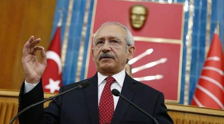 Turkey opposition chief Kemal Kilicdaroglu hosts justice congress in challenge to PresidentErdogan